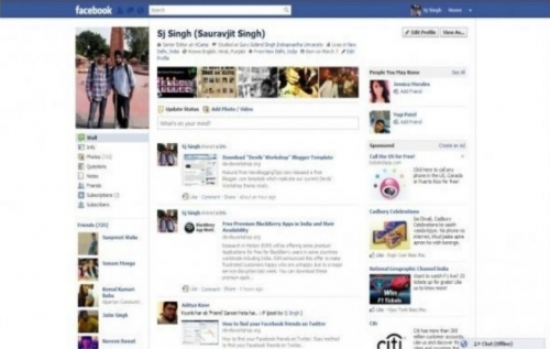facebook ab 2011